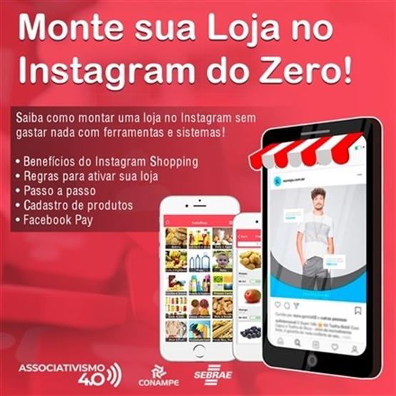 Monte sua loja no Instagram