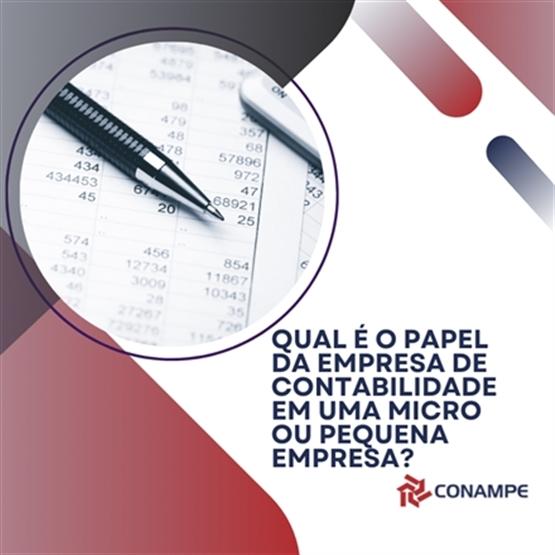 Qual é o papel da empresa de contabilidade em uma Micro ou Pequena Empresa?